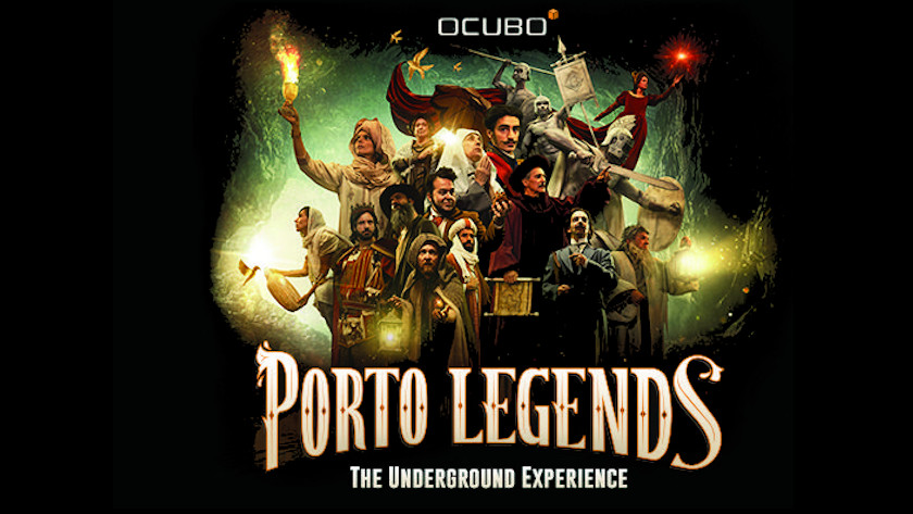 Passatempo ACP - Porto Legends. The Underground Experience