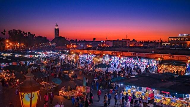 Marrocos-Marraqueche-Praca-Jemaa-El-Fna2-Acp-Viagens