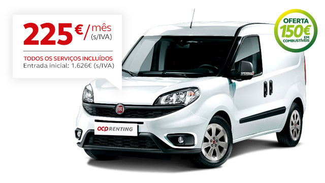 ACP Renting Empresas - Fiat Doblo