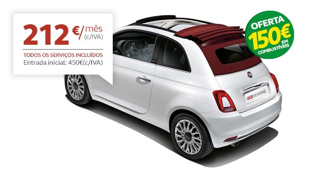 Renting Fiat 500 C