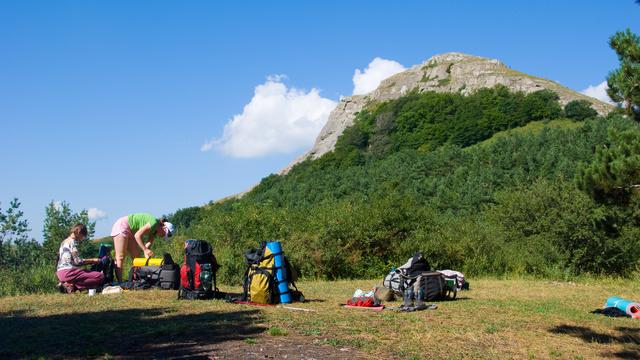 Antes de acampar