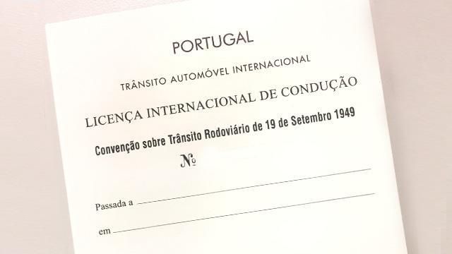 Licença Internacional de Condução