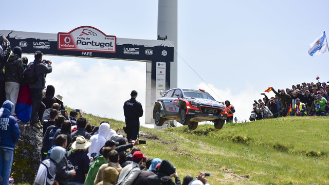 Resumo da história do Rally de Portugal