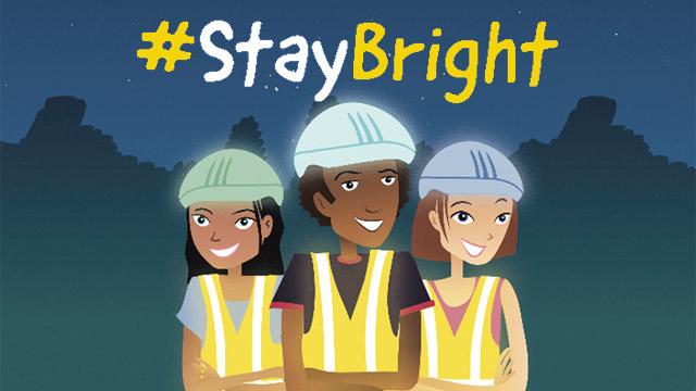 Campanha Segurança Rodoviária Stay Bright