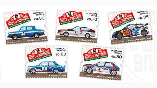 ACP-Noticias-CTT-lancam-colecao-de-selos-dos-50-anos-do-Rally-de-Portugal