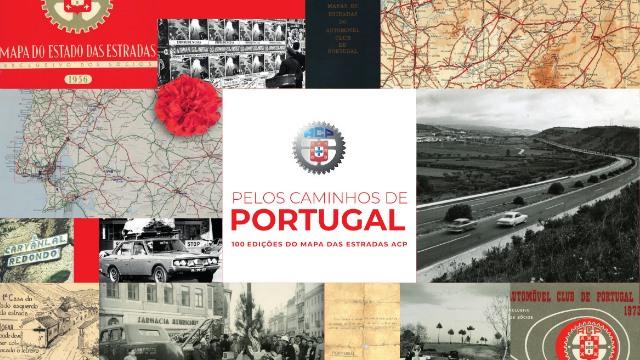 ACP Noticias - Exposicao Pelos caminhos de Portugal, 100 edições do Mapa das Estradas ACP
