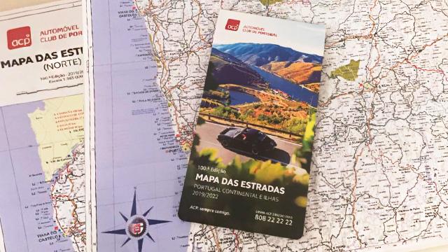 ACP Noticias - Edição nº 100 do Mapa das Estradas ACP