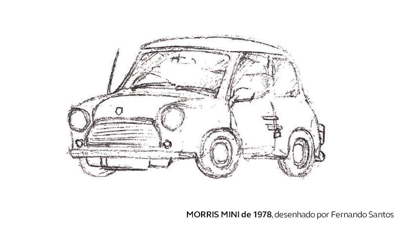 O primeiro carro de Fernando Santos