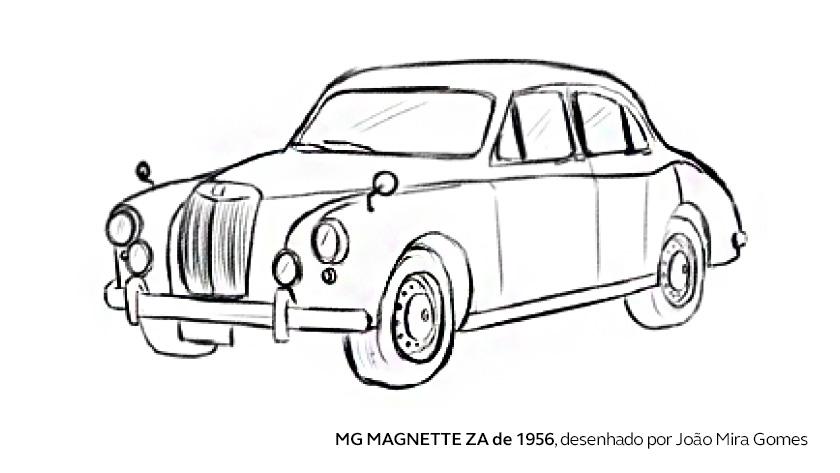 O primeiro carro de João Mira Gomes
