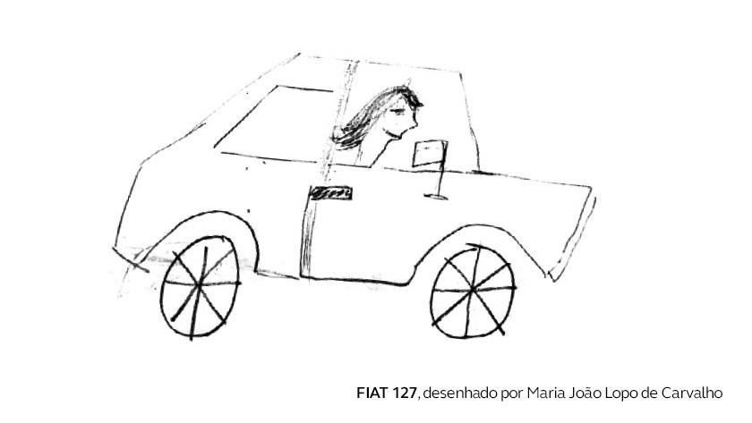 O primeiro carro de Maria João Lopo de Carvalho
