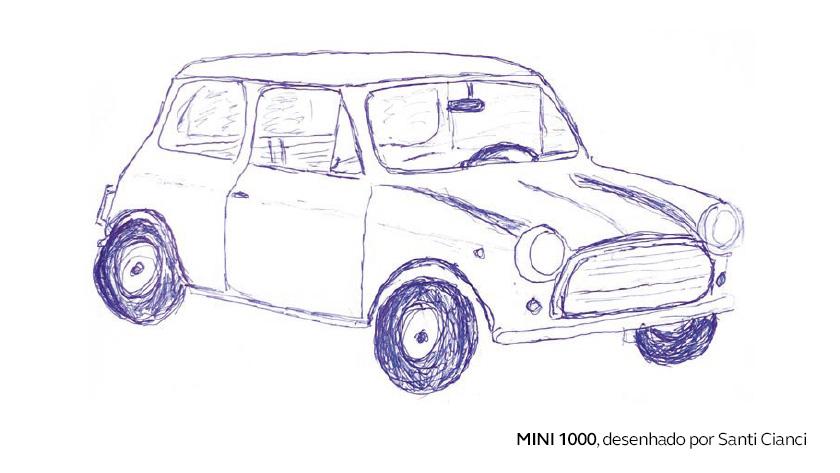 O primeiro carro de Santi Cianci