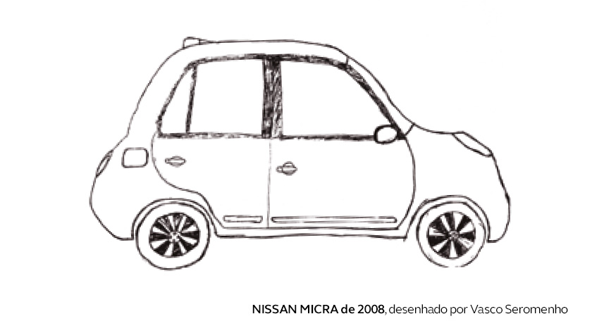 O primeiro carro de Vasco Seromenho