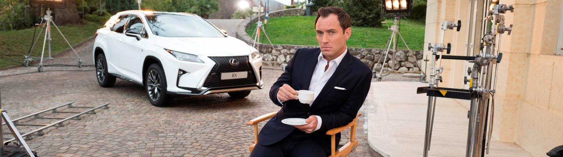 Jude Law e Lexus