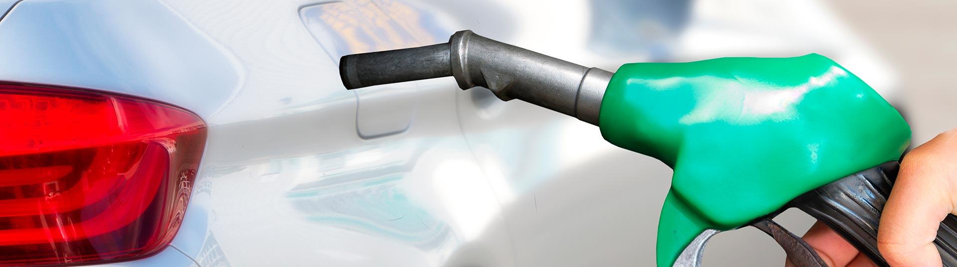 Abastecimento de gasolina