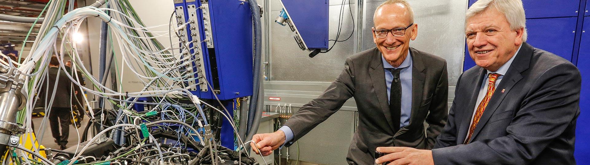Novo laboratório de sistemas de motorização da Opel