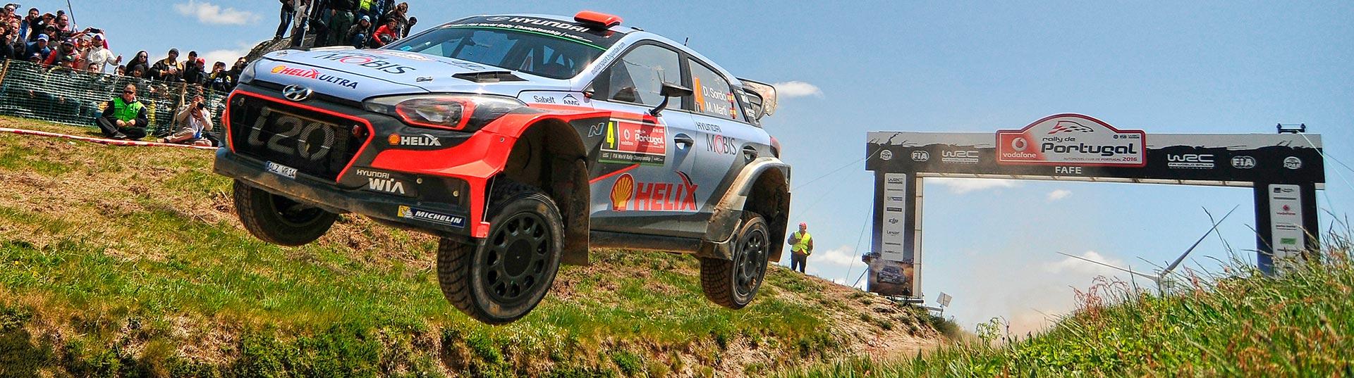 Salto de Fafe - Rally de Portugal