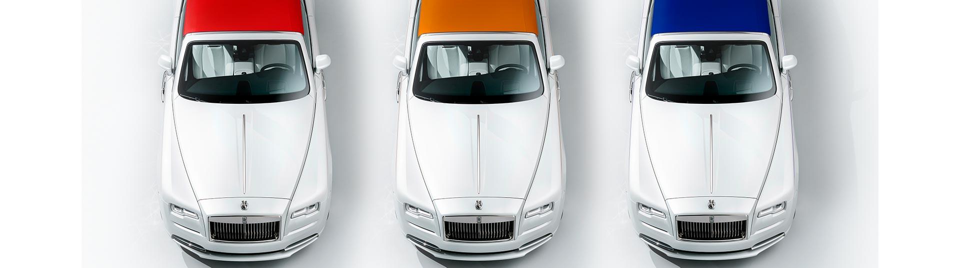 Rolls Royce apresenta linha de couture