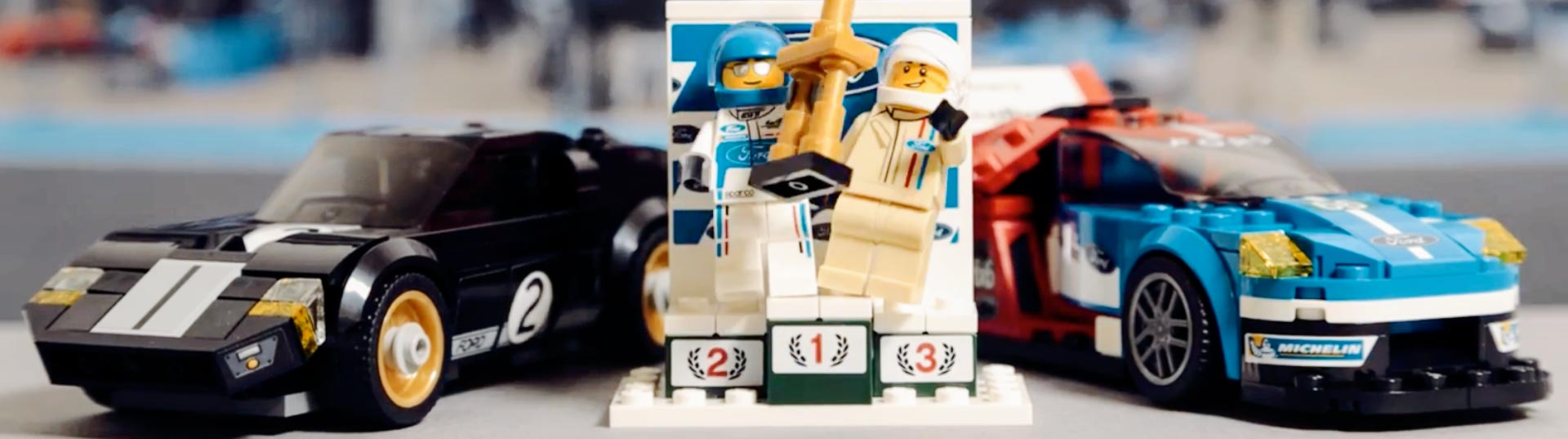Ford GT Le Mans Lego