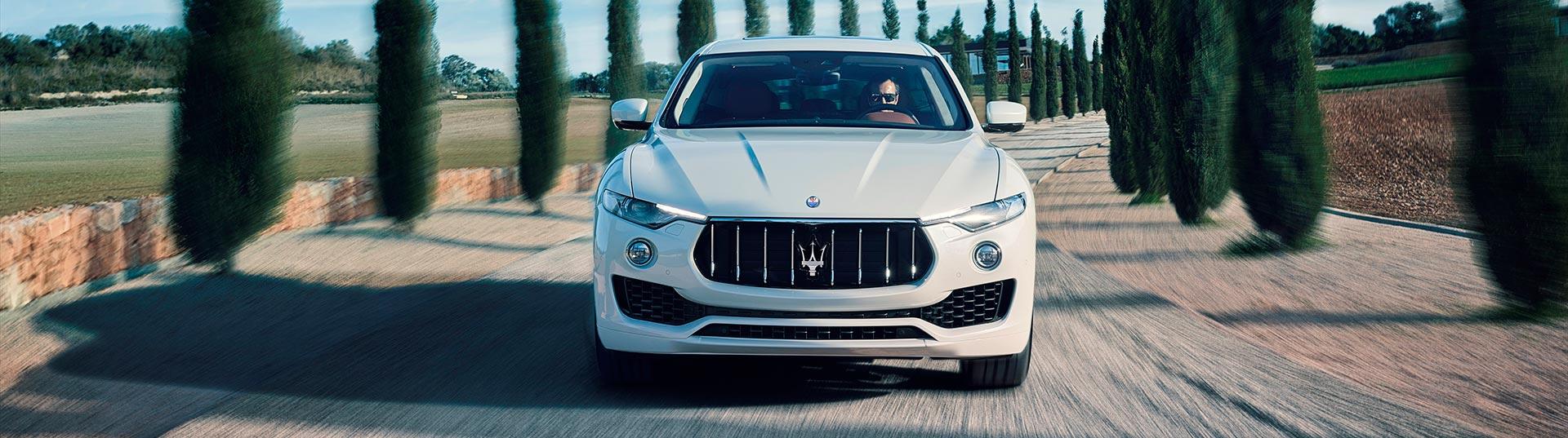 Pneus Bridgestone equipam Maserati Levante