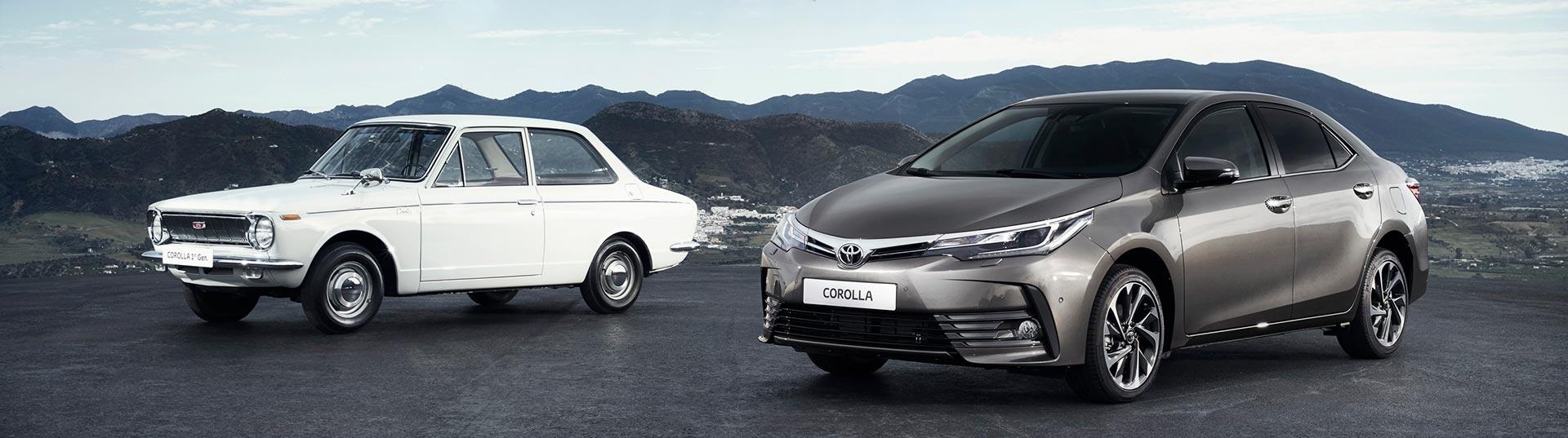 50 Anos de Toyota Corolla
