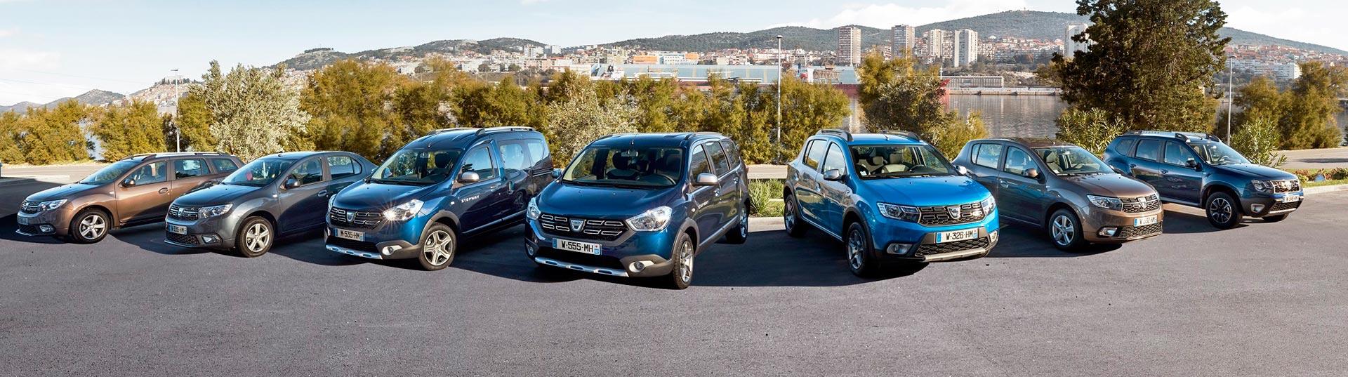Nova gama Dacia