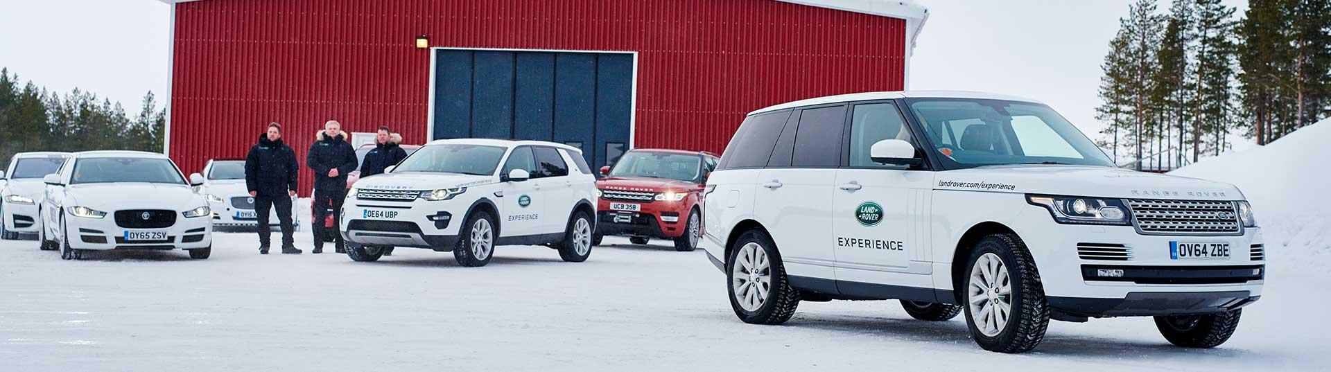 Jaguar Academia de Condução no Gelo