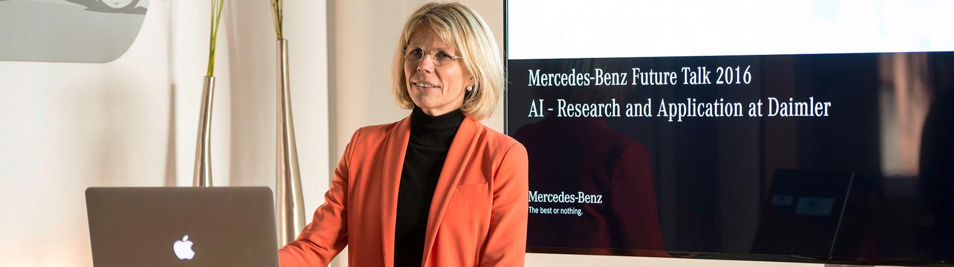 Anke Kleinschmit, diretora do Grupo de Pesquisa da Daimler