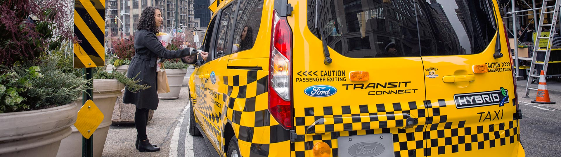 Ford Transit Hybrid Taxi