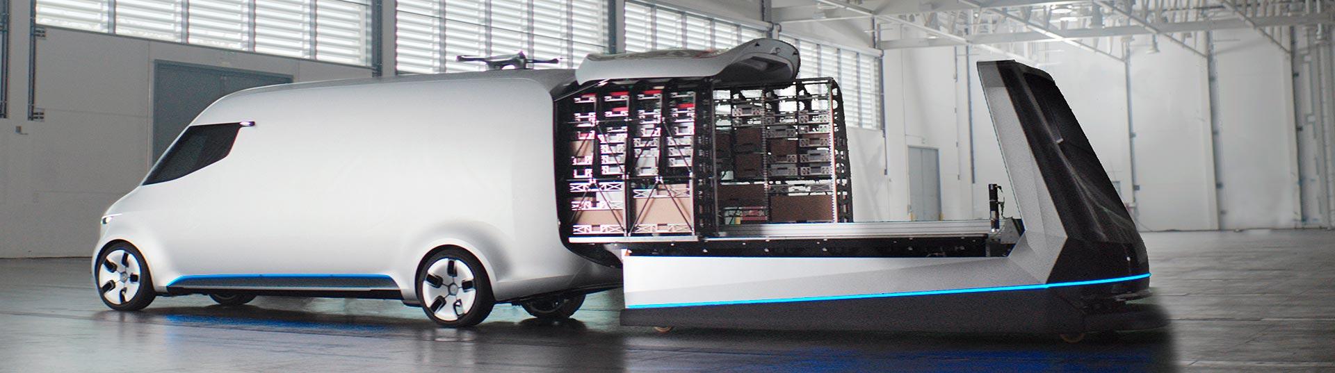 Mercedes Vision Van no CES 2017