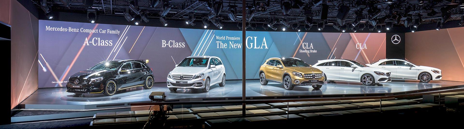 Mercedes GLA em Detroit