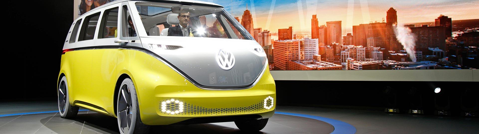 VW I.D. Buzz em Detroit