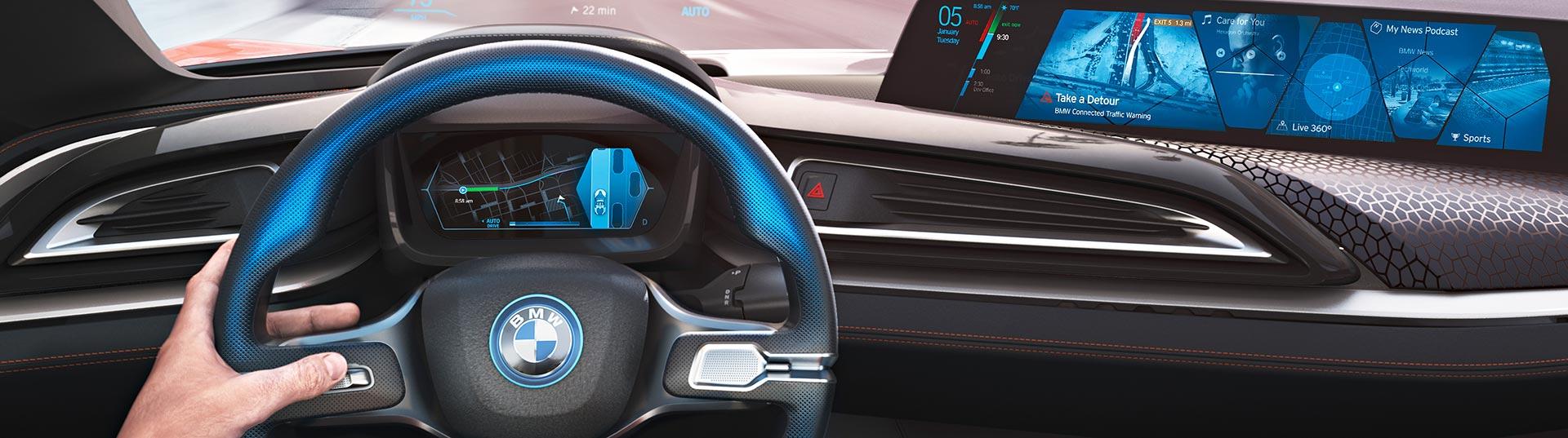 parceria entre bmw e intel para carros autónomos