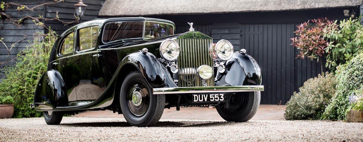 """Rolls-Royce Phantom III """"Butler"""" Montgomery"""