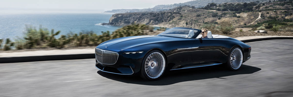 Mercedes Maybach Vision 6 Cabrio