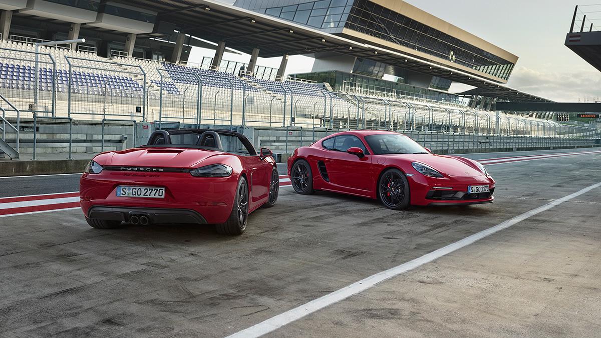 Porsche 718 GTS Cayman e Boxster