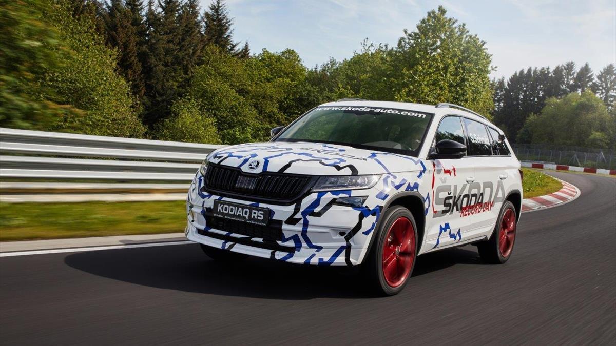 Kodiaq RS_Nurburgring_3