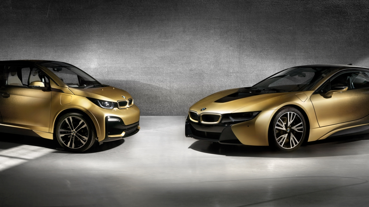 BMW ouro