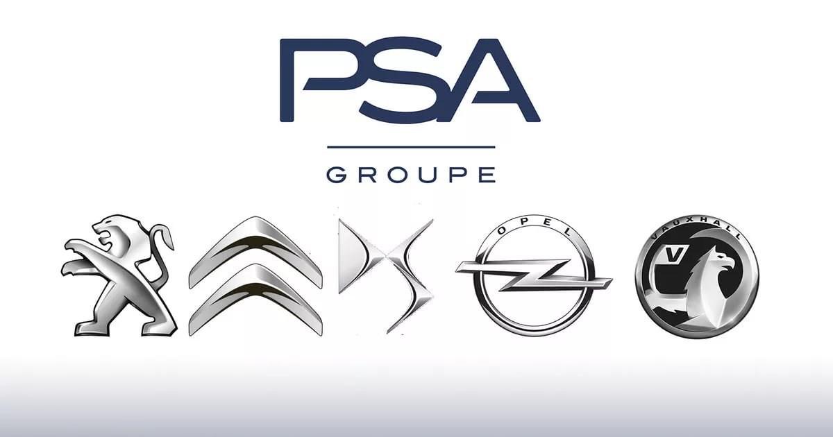 Groupe PSA_logos