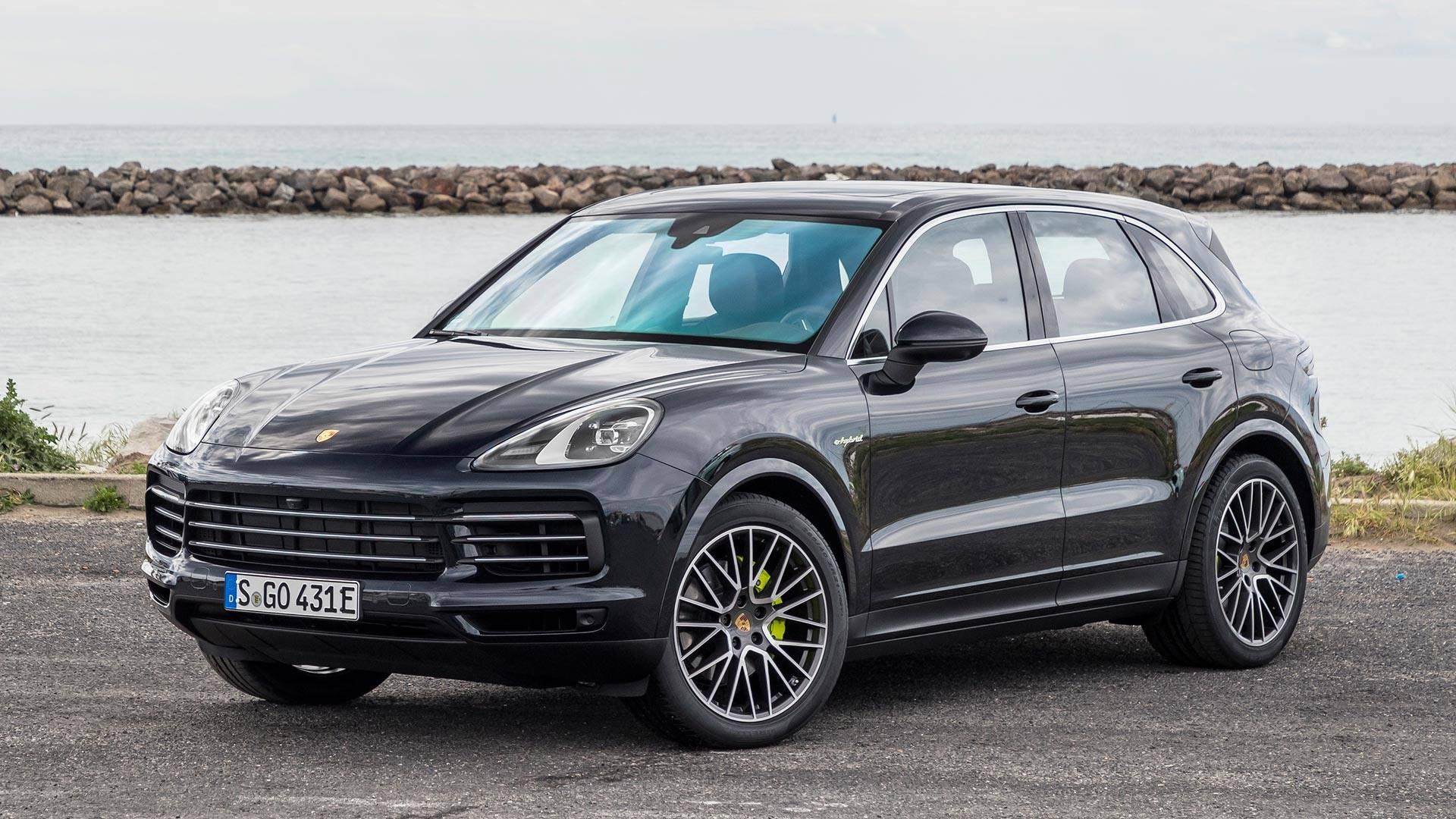 Porsche cayenne_e_hybrid