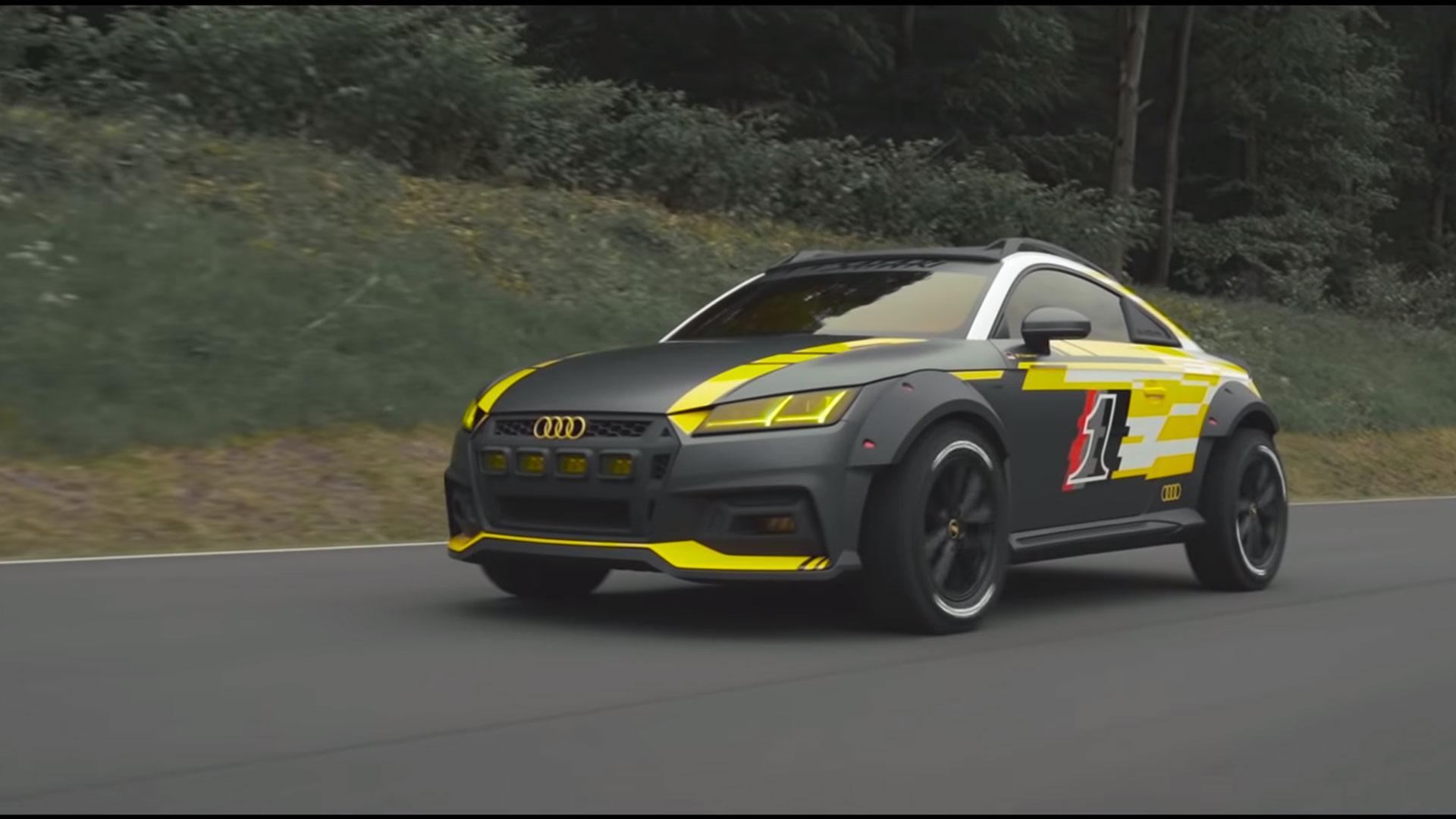 Audi TT_safari