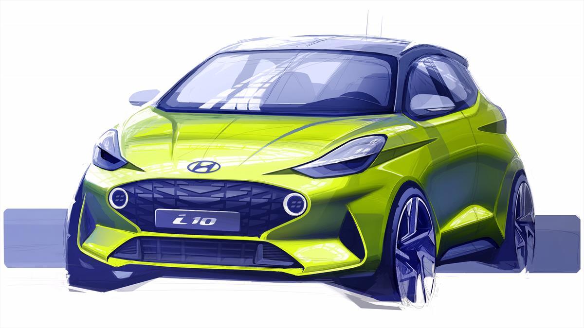 Hyundai revela_primeiro_esboco_do_Novo_Hyundai_i10