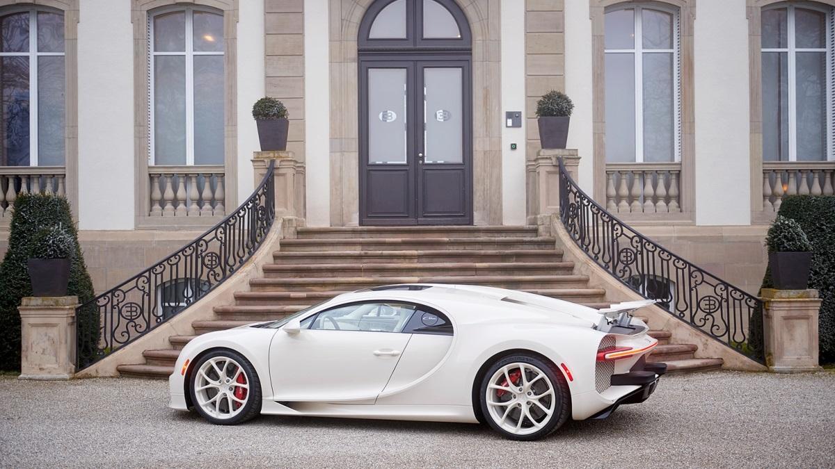 Único Bugatti Chiron Hermès Edition já chegou a casa | ACP