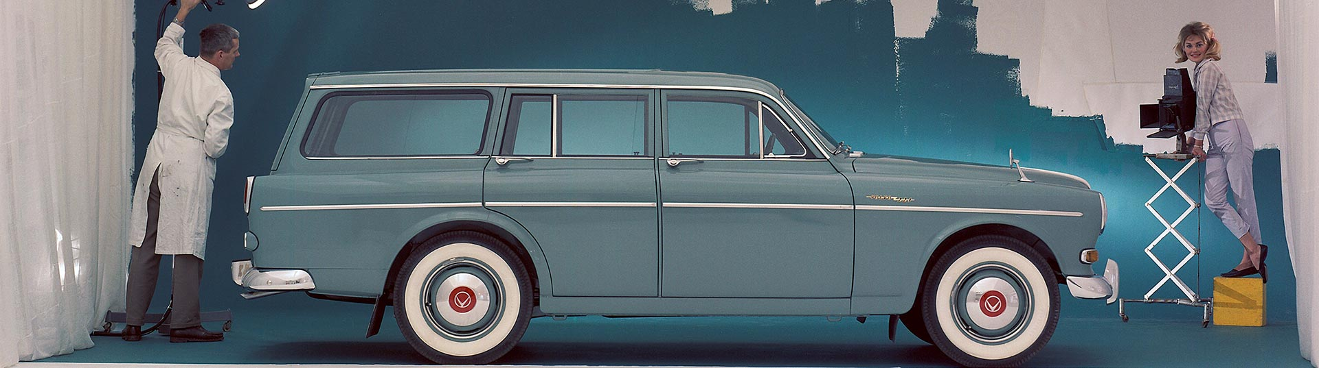 60 anos de Volvo Amazon