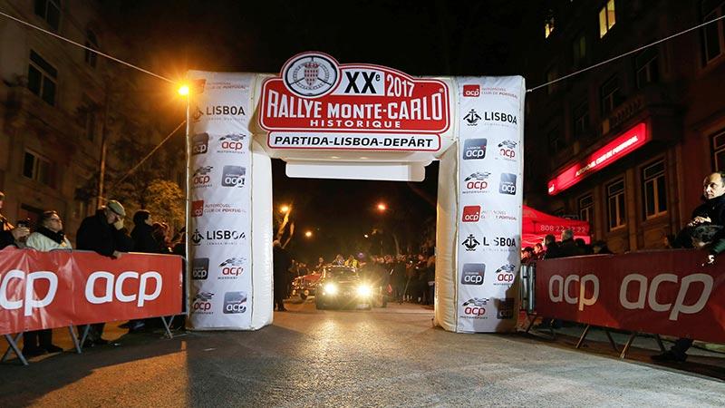 Partida de Lisboa do Rallye de Monte Carlo Histórico 2017