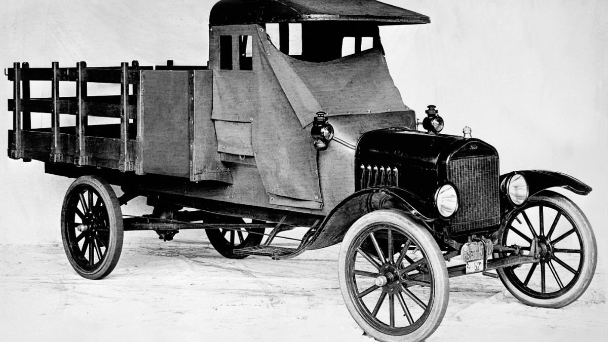 Model TT_Truck_In_1917