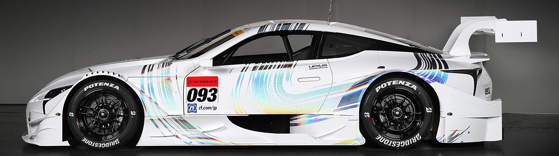 LC 500 é arma da Lexus para o Super GT de 2017