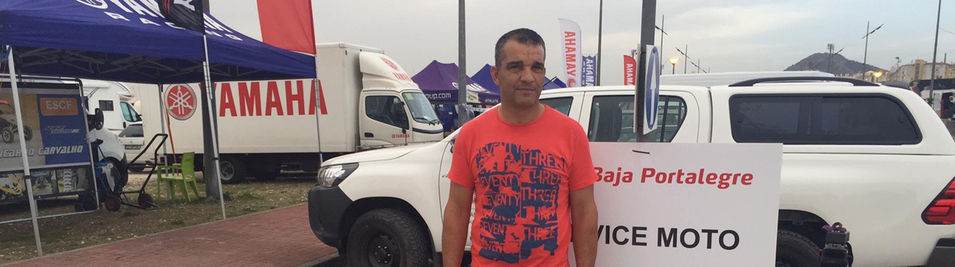 Capitão José Curião, da GNR, que corre na Baja Portalegre 500