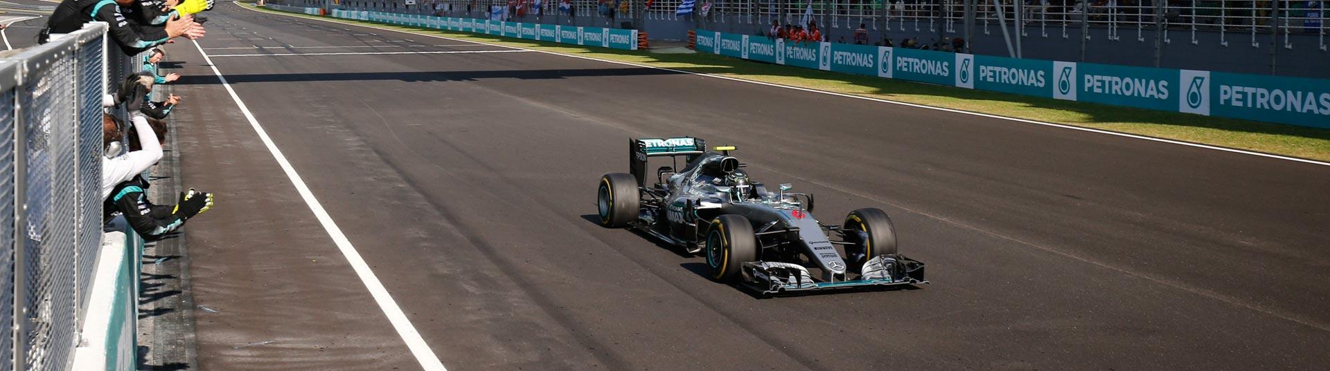Nico Rosberg na Malásia