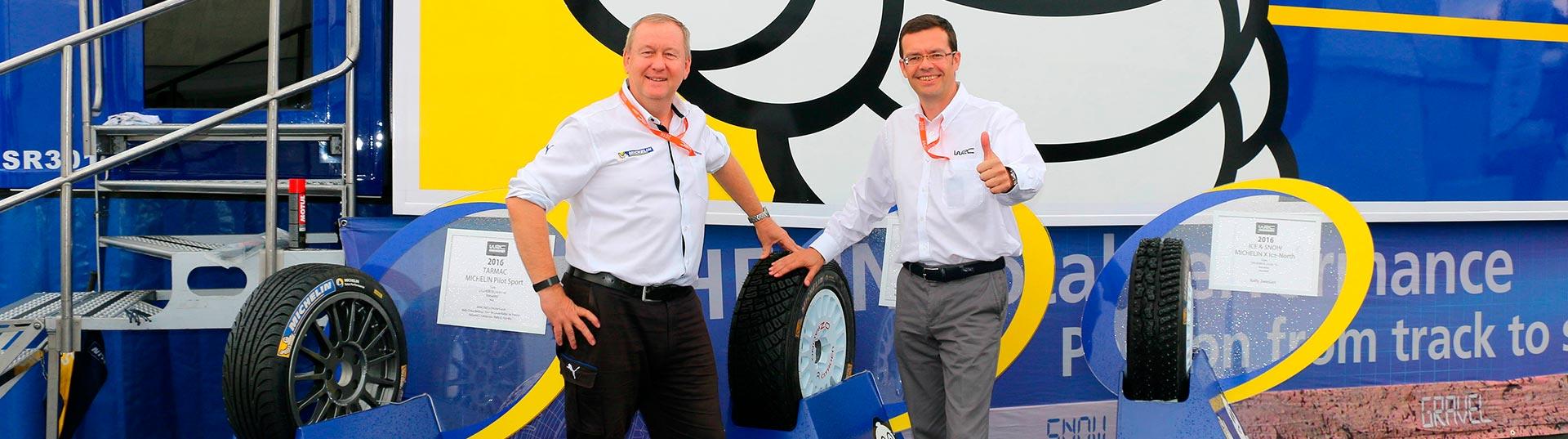 Acordo Michelin com WRC
