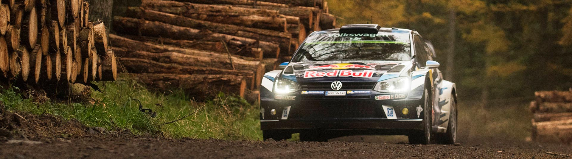 Ogier no WRC Rali de Gales